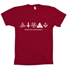 TShirt BELIEVE IN CONSPIRACY